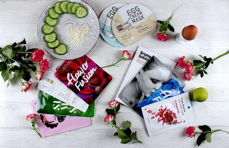 Sheet Masken: Der neue Beautytrend im Test